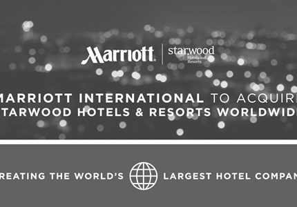 Marriott koopt Starwood