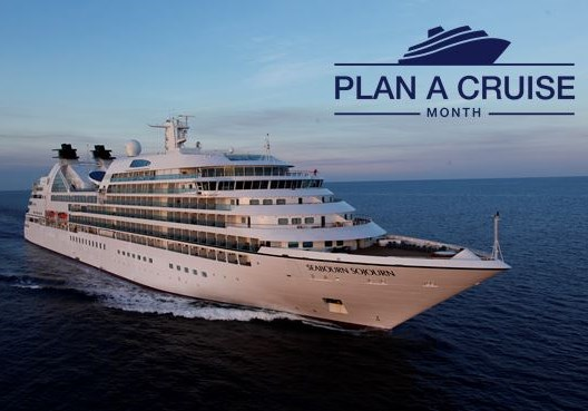 Plan A Cruise Month met Seabourn