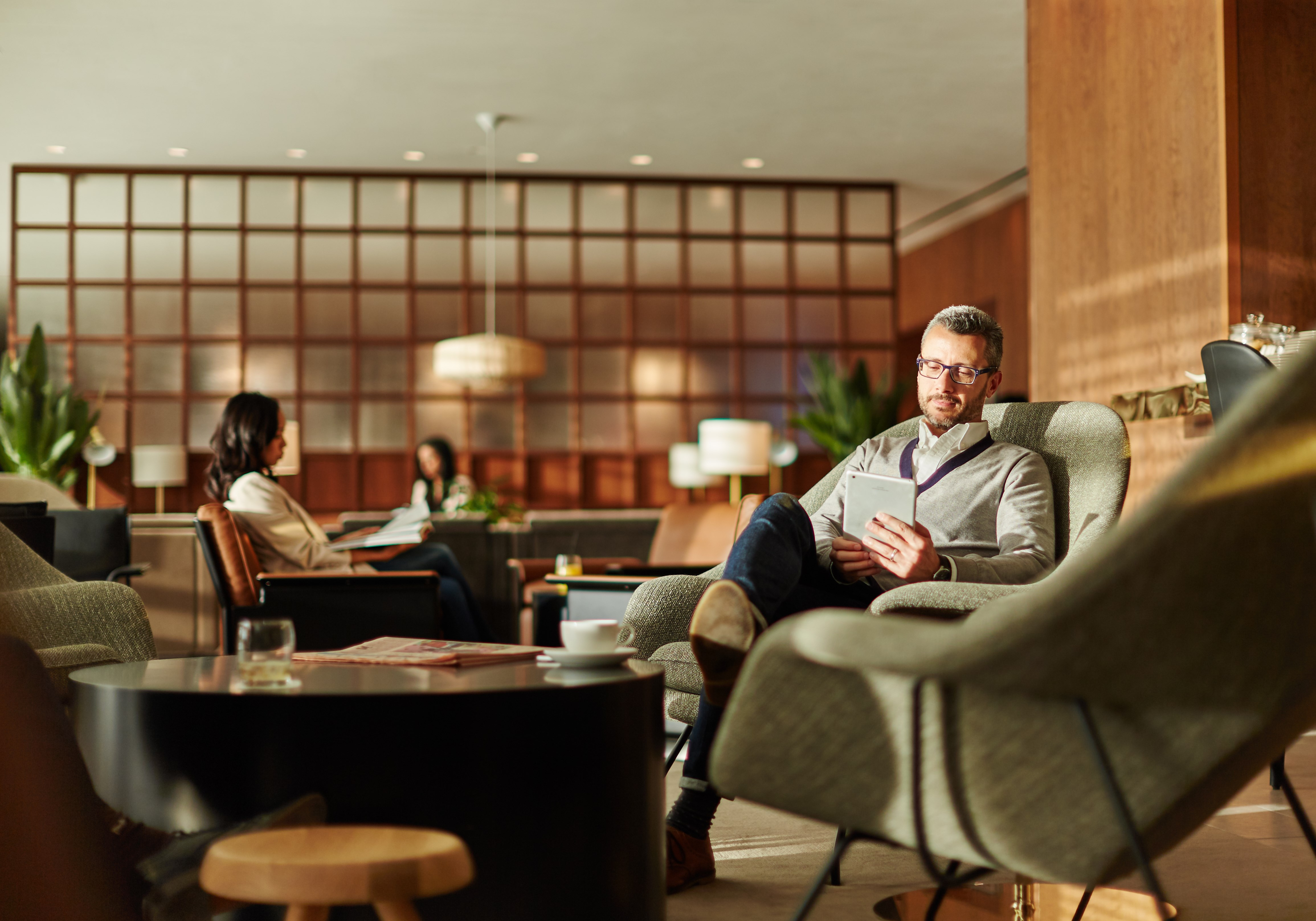 Cathay Pacific heropent Heathrow lounge