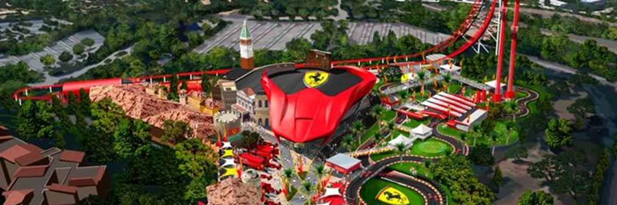 Ferrari Land Opent in April