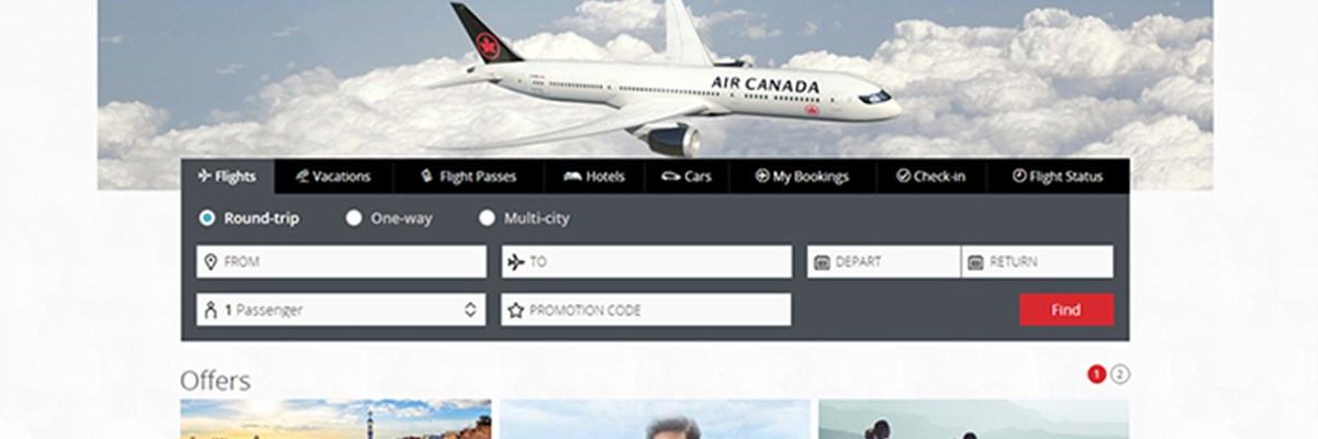 Air Canada choisit la technologie Amadeus