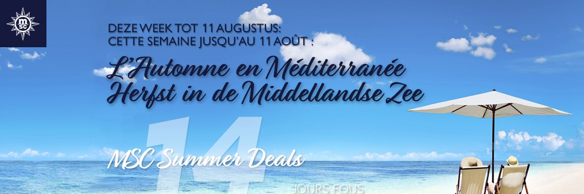 MSC Summer Deals 5de week