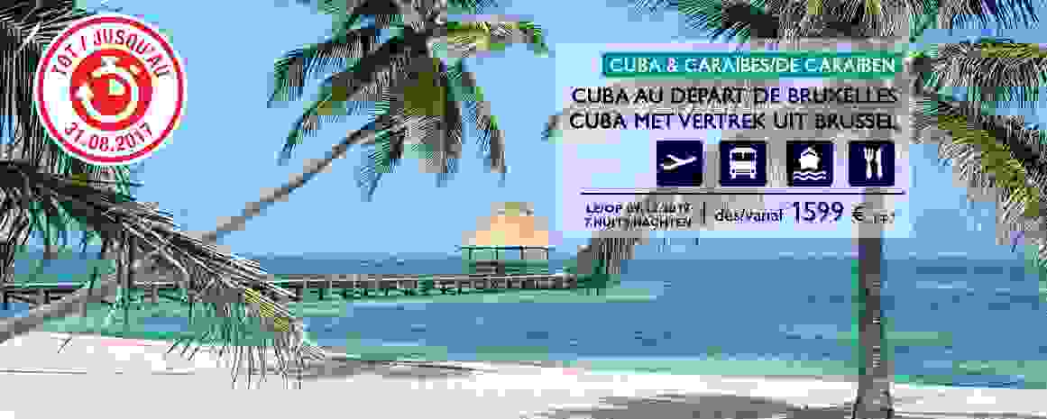 Cuba avec vols Air France de Bruxelles inclus!