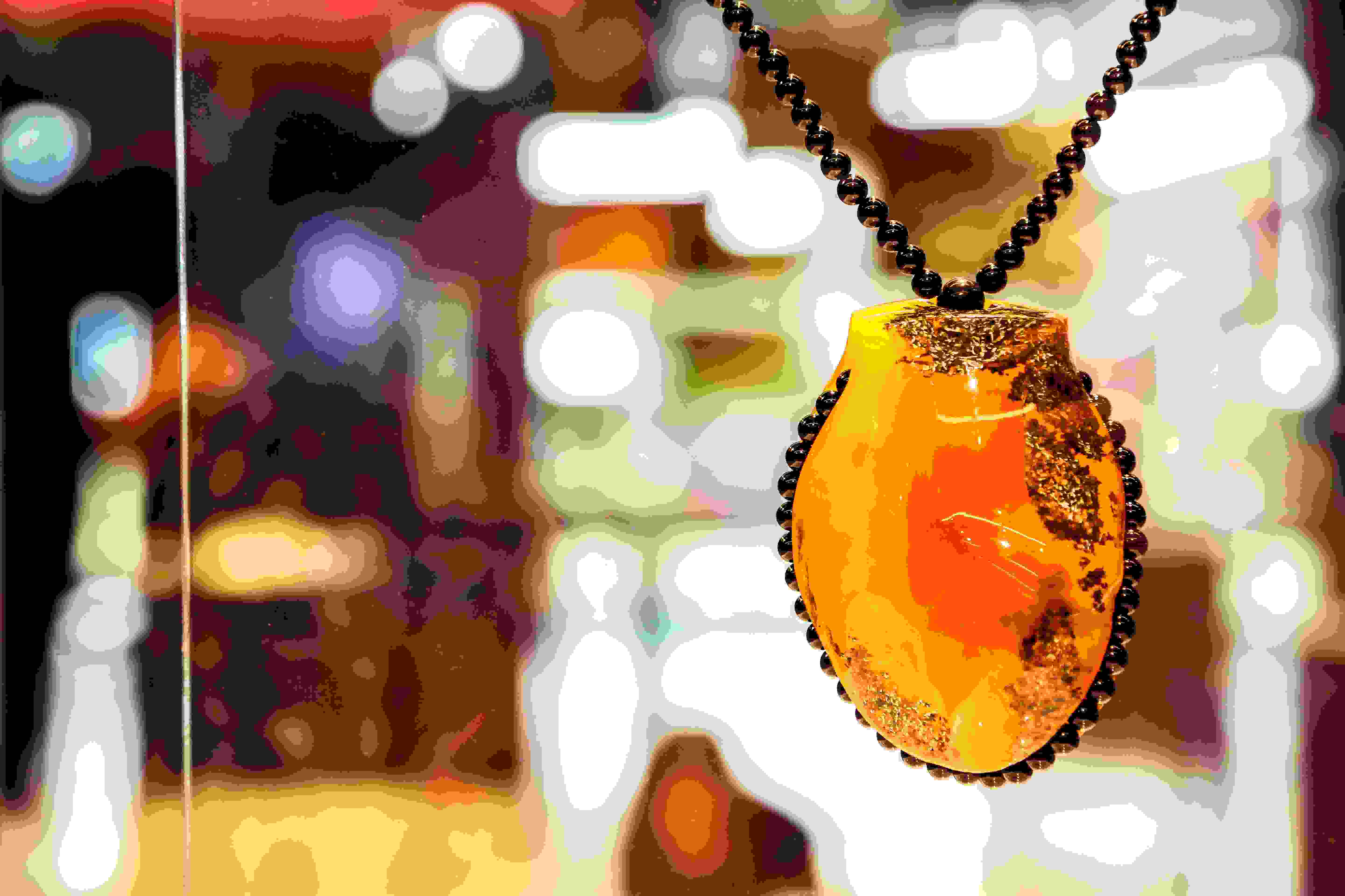 Baltic Amber in Tour de Taxis