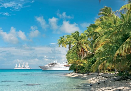 Up to USD500 Shipboard Credit on Windstar bookings