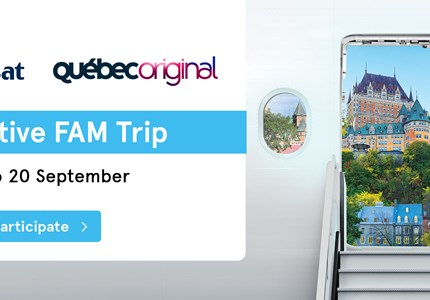 Air Transat Quebec Incentive FAM-trip 2018