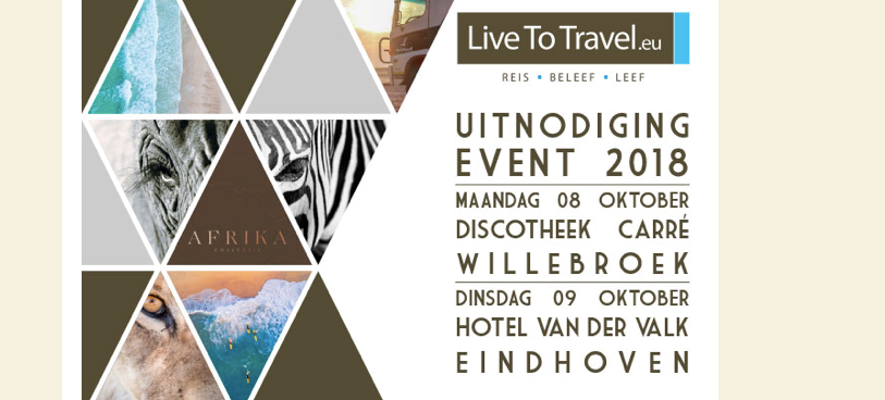 Uitnodiging Live To Travel Event