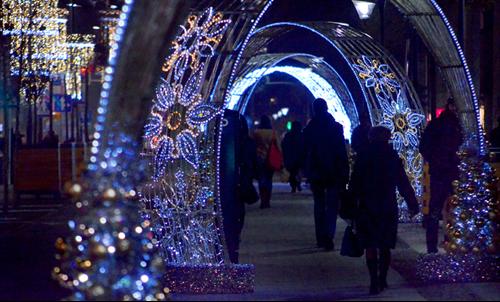 Travolon Polen Warschau kerstmarkt