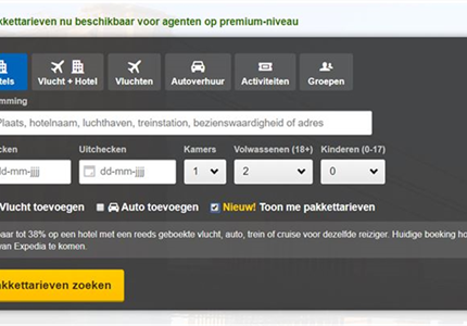 Concours, Expedia TAAP