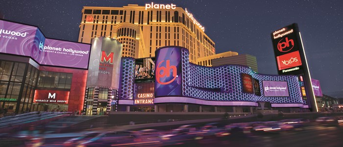 Planet Hollywood, leuk centraal hotel