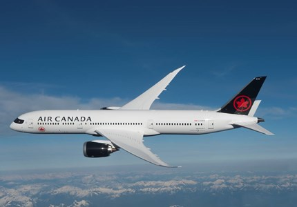 Air Canada : Brussel - Montreal groter toestel