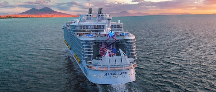 Vernieuwde Allure of the Seas in Europa