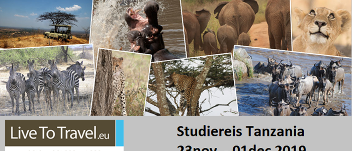 Uitnodiging Live To Travel studiereis Tanzania