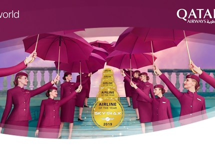 Win een luxueus cadeau van Qatar Airways