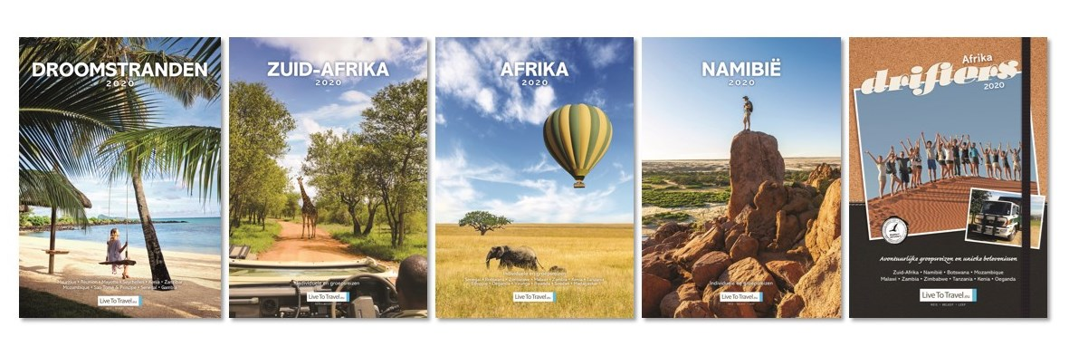 Nieuwe Live To Travel brochures