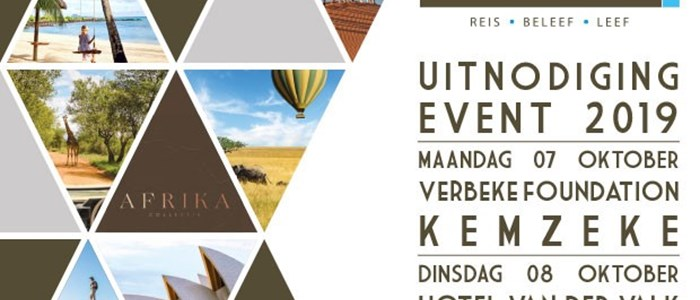 Uitnodiging Live To Travel Event 7 oktober