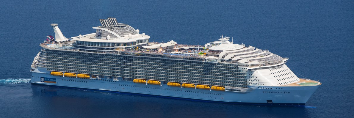 Harmony of the Seas en Odyssey of the Seas