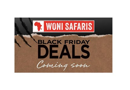 Woni Safaris Black Friday deals
