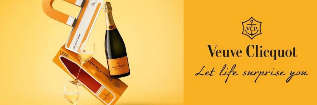 Footprints en Veuve Clicquot