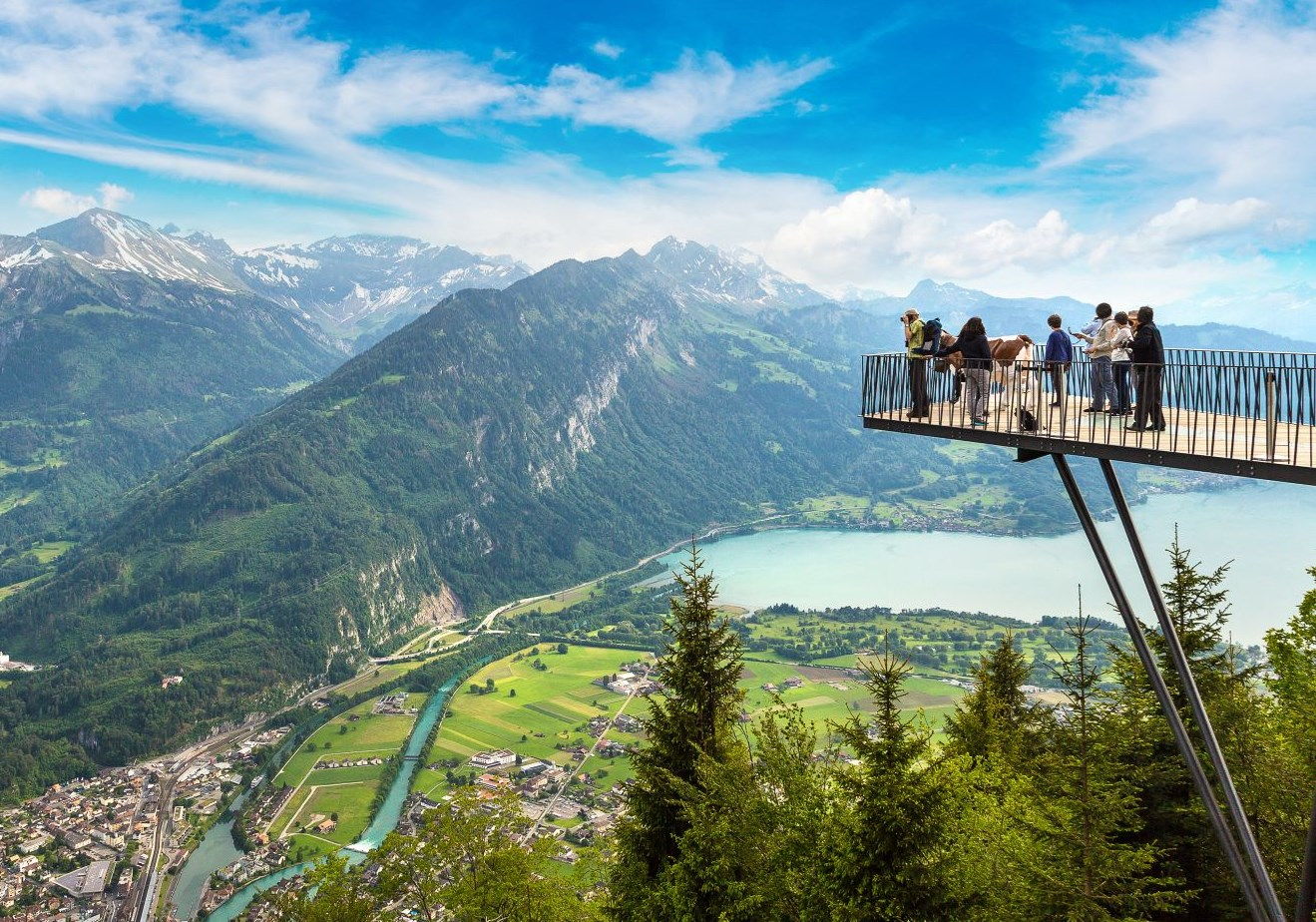 Imagine your next holiday to ... Switserland