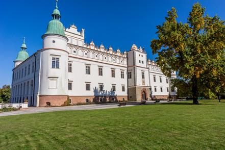Polen reizen Baranów Sandomierski kasteel