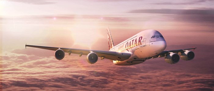 Win gratis tickets van Qatar Airways