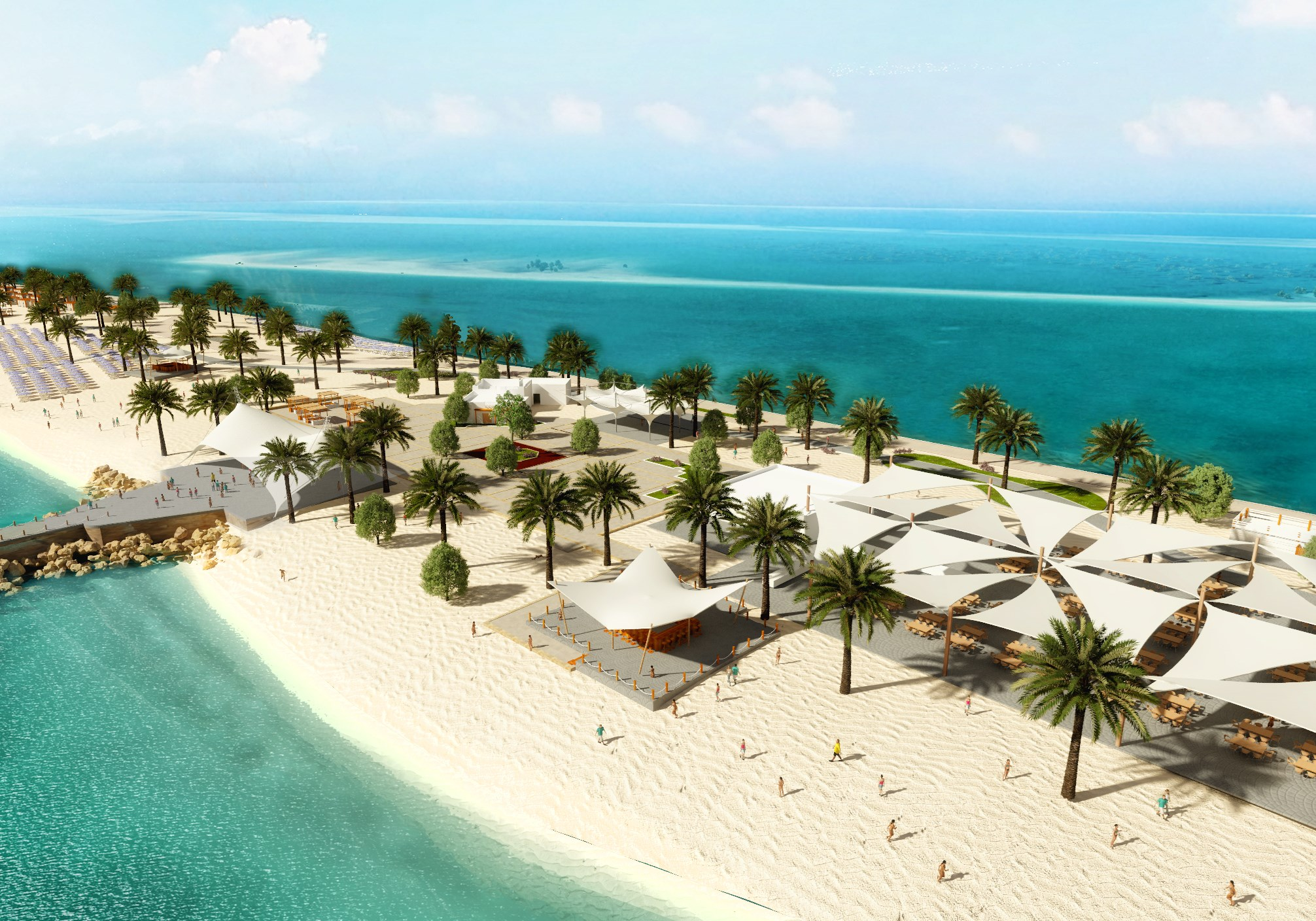 MSC cruises introduceert Sir Bani Yas eiland